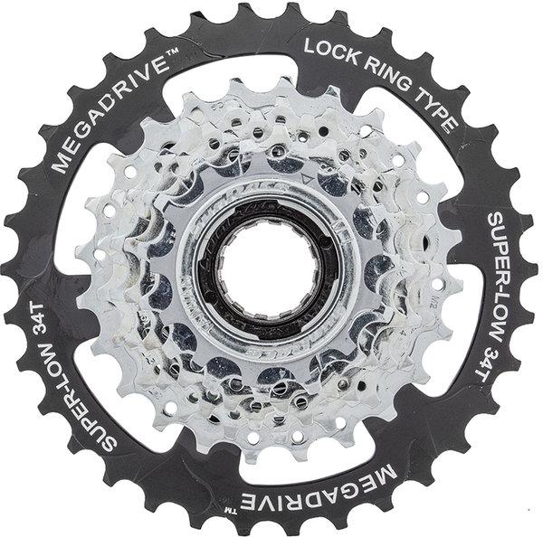 SunRace 13-34 Thread-on 7-speed Freewheel MegaDrive