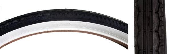 Kenda 26 x 1.75 Classic Middleweight Cruiser Tire Blk/WW