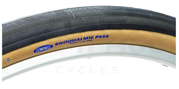 Rene Herse / Compass 700 x 44c Snoqualmie Pass TC Folding Tires