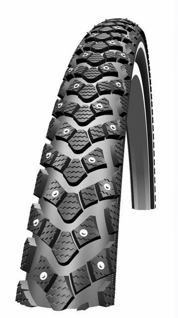 Schwalbe 26 x 1.75 Marathon Winter Studded Snow Tire
