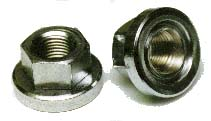 Problem Solvers Track Nuts 10 x 1mm (Sold in Pairs)