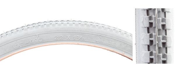 Kenda 22x1-3/8 (550A) ISO:37-490 Grey Tire