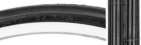 Kenda 24 x 1-1/4 - 1-3/8 S6 (37-547) SCHWINN Tire