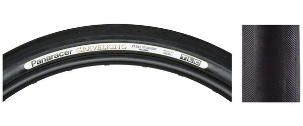 Panaracer Gravel King TLC 650B x 42 (584) Folding Tire