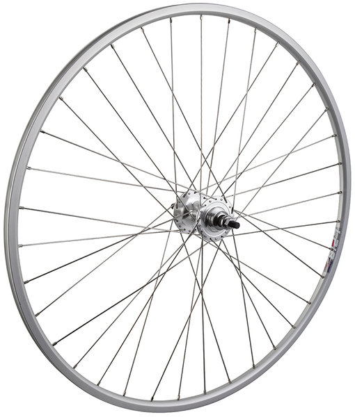 "Harris Cyclery 27"" Weinmann LP18 Fixed-Gear Rear Wheel"