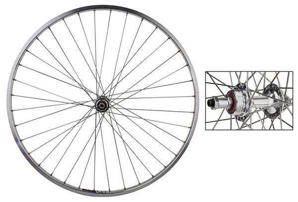 "Harris Cyclery 27"" (630) Rear Wheel Sun CR18 w/Sealed hub for Freewheel"