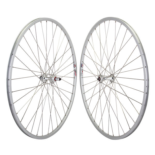 "Harris Cyclery Wheelset 27"" Weinmann LP18 /Origin8 Sealed Hub QR Freewheel, 36 Spokes"