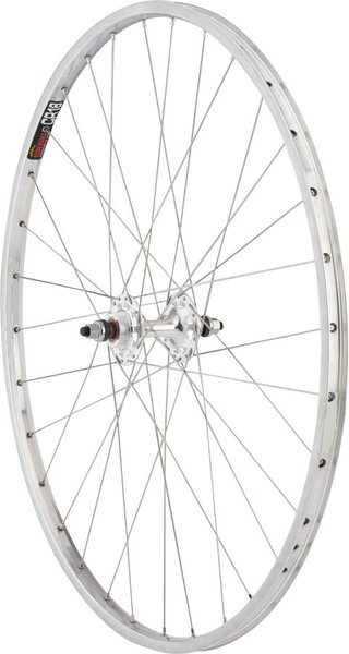 Harris Cyclery 26 x 1-3/8 (590) Wheel. Sun CR18 Rim, Formula Double-Fixed Hub 36 Spokes