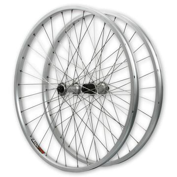 "Harris Cyclery 26"" (559) MTB Wheel set Brutal Beast Deore/Rhyno Lite 32 Spoke"
