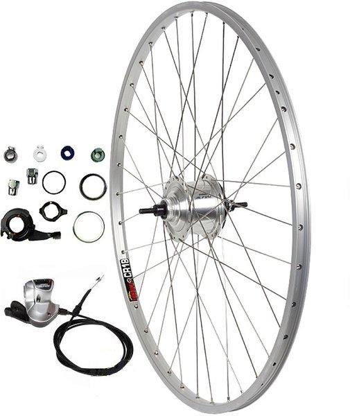 Harris Cyclery 700c 8-speed Alfine Hub/Sun CR18 Wheel, Shifter Included