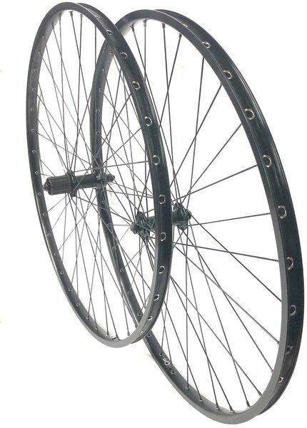 Harris Cyclery 700c H Plus Son TB14/RS400 Wheel Set 36 Spoke, Black
