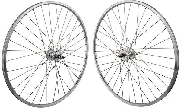 Harris Cyclery Weinmann LP18/Formula Fixed/Free Flip-Flop Wheelset Silver