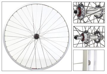 Harris Cyclery 700C Sun CR-18 Rims w/ Sealed Hubs QR Wheelset Freewheel