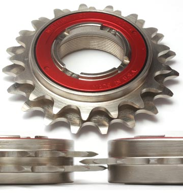 White Industries DOS ENO 16-18 Tooth Double Freewheel