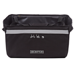 Brompton Basket Bag - Black