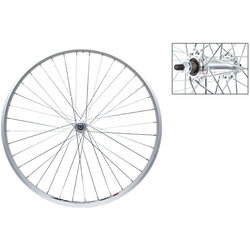 Harris Cyclery 26 x 1-3/8 (590) Front Wheel. Weinmann Alloy Rim, Bolt-on Hub, 36 Spokes