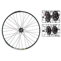 Harris Cyclery Mavic CXP Elite/Origin8 Fixed/Free Flip-Flop Wheelset Black
