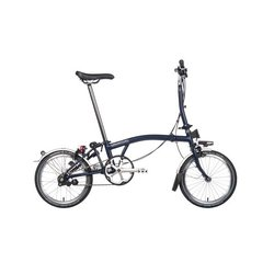 Brompton M3L Blue/Blue Folding Bicycles