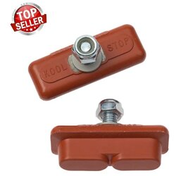 Kool Stop Continental Salmon Brake Shoes