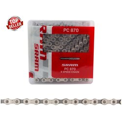 SRAM PC-870 5,6,7,8 Speed Chain Silver