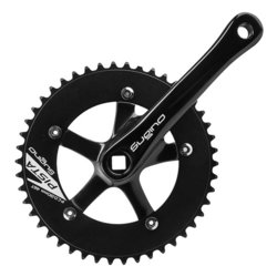 Sugino RD2 Pista Fixed Gear Crank Set 46t x 165mm Black