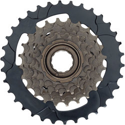 Dimension 14-34t Thread-on 6-speed Freewheel