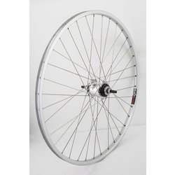 Harris Cyclery 26 x 1-3/8 (590) Wheel. Sturmey-Archer SRF3 3spd Hub w/Sun CR18 Rim 36 Spoke