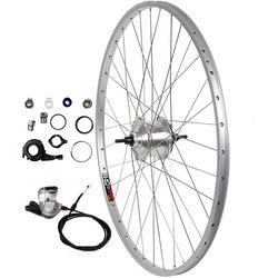 Harris Cyclery 700c 8-speed Alfine Hub/Sun CR18 Wheel, Shifter Included