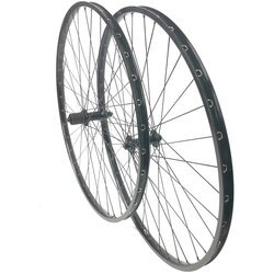 Harris Cyclery 700c H Plus Son TB14/RS400 Wheel Set 36 Spoke , Black