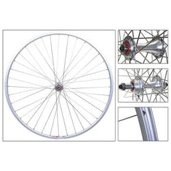 Harris Cyclery Wheelset 700c Weinmann LP18 Rims/ Sealed Freewheel Hubs QR 36 Spokes