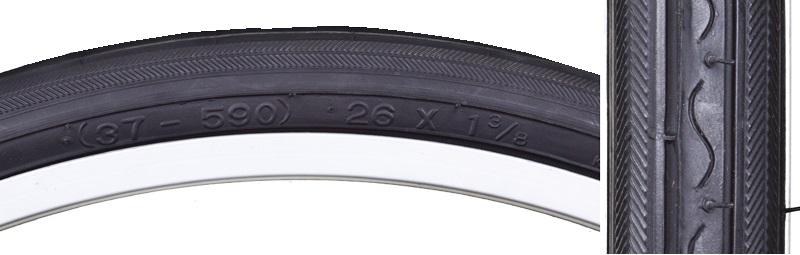 Tire//Tyre Bike 26 x 1 3//8 Holland-R Vintage Brown 37-590