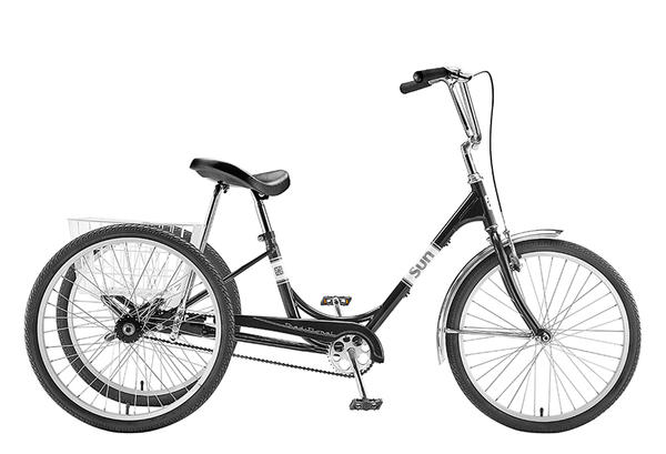 Sun Bicycles Traditional Trike 24