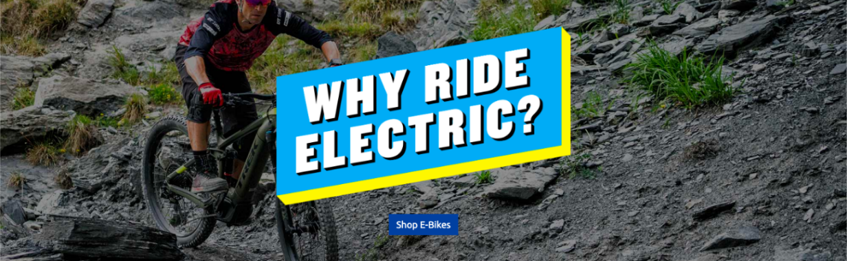 Why Ride Trek Electric Bikes?