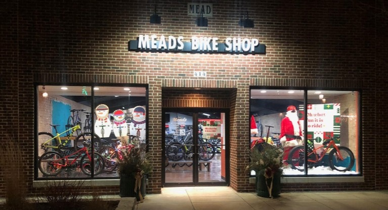 Meads Bike Shop storefront