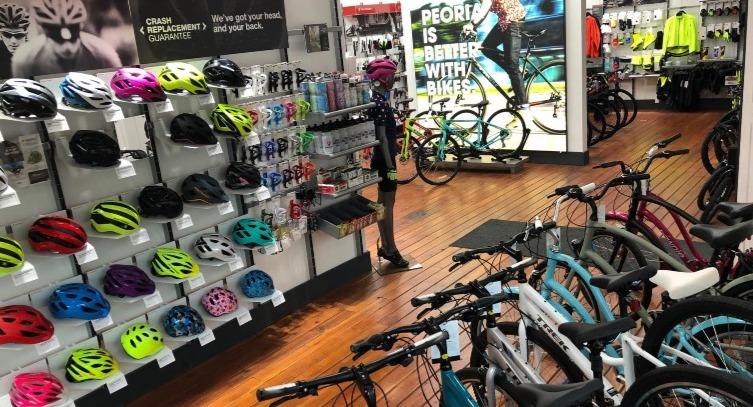 Trek Bicycle Peoria Interior Shop Pic