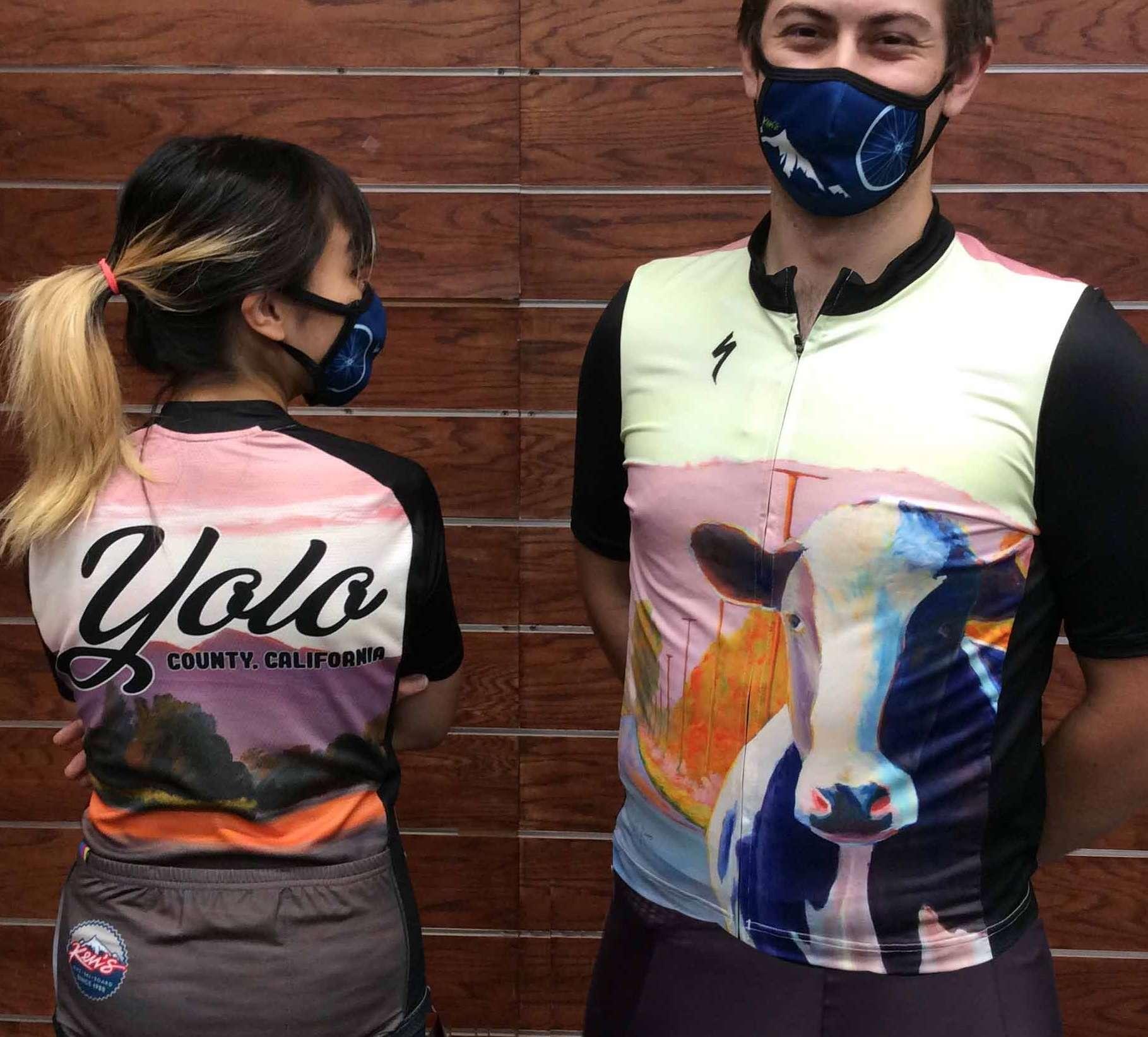 Yolo Ken's cycling jersey