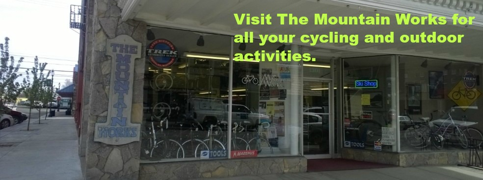 Visit The Mountain Works for all your cycling and snowsports needs.