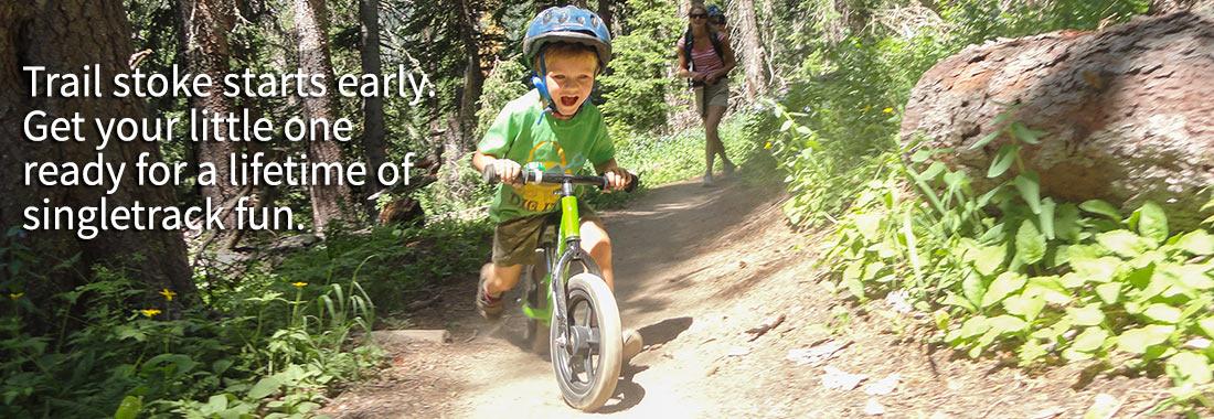 Kids love our running bikes and children's bikes.