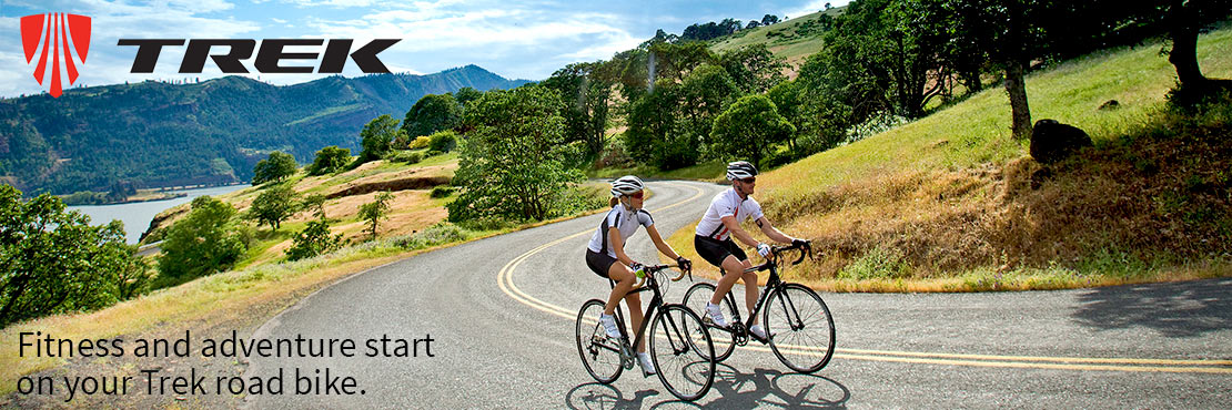 Trek road bikes boast great-riding, high-tech USA-designed carbon and aluminum frames.