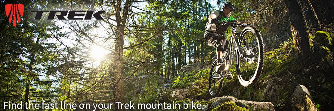 Trek's mountain bikes shred technical singletrack and everything else.