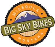 Big Sky Bikes logo link to homepage