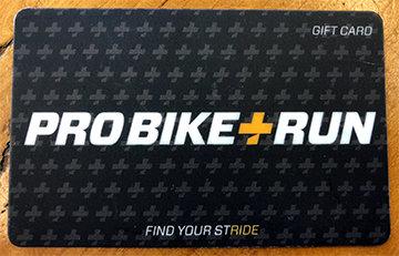Pro Bike + Run Gift Card