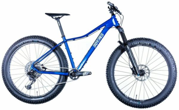 "Borealis Flume Alloy Fat Bike 27.5+"" Eagle NX Build Rockshox Bluto RL 100mm Fork"