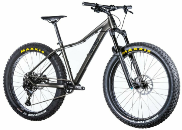Borealis Fume Alloy Fat Bike 27.5+ ENX LevelT KS LEV 150 Bluto RL Dually 29x45 Reckon 29x2.6