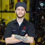 Mechanic Steve Lersch