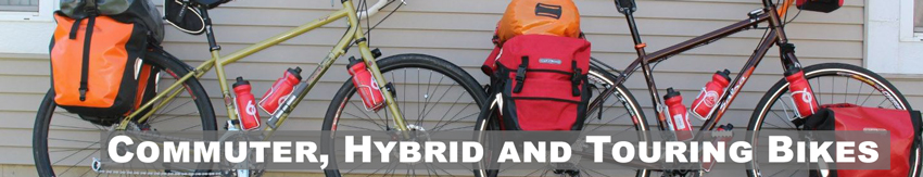 Commuter, Hybrid and Touring Bikes
