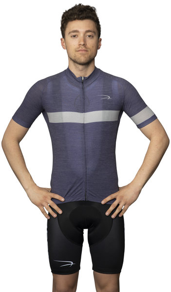 Palo Alto Bicycles Avocet Lightweight Urban Merino Wool Jersey