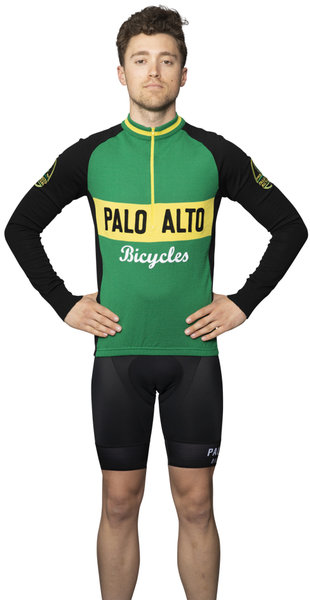 Palo Alto Bicycles Classic Wool Jersey LS