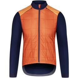 CAFE DU CYCLISTE Men's Leonie Jacket Navy & Orange