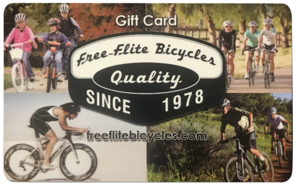 Free-Flite Free-Flite Bicycles Gift Card